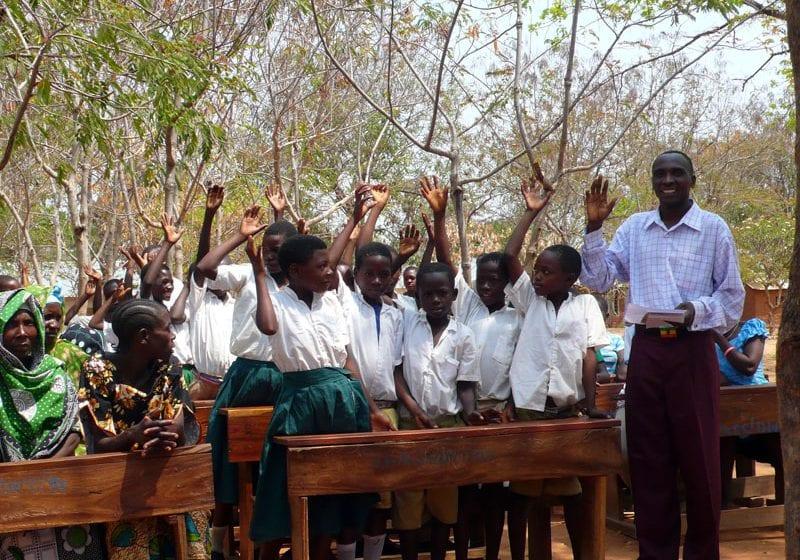 GTNF helps Tanzanian children attend school
