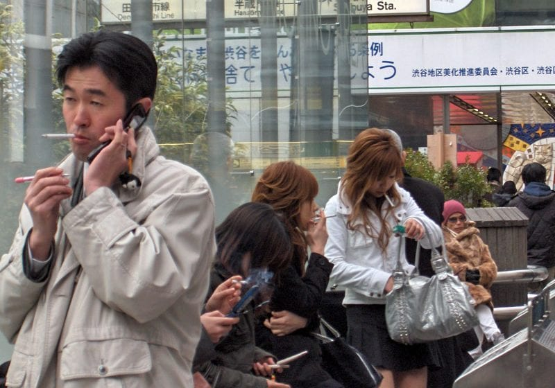 Japan: Smoking Drops to Record Low