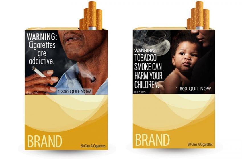 Warnings for e-cigarettes