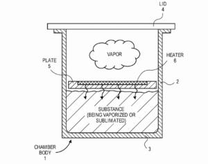 Apple files vaporizer patent
