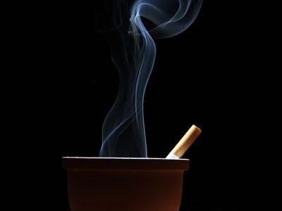 Smoking rate increased