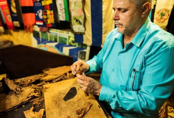 Cigar exports up