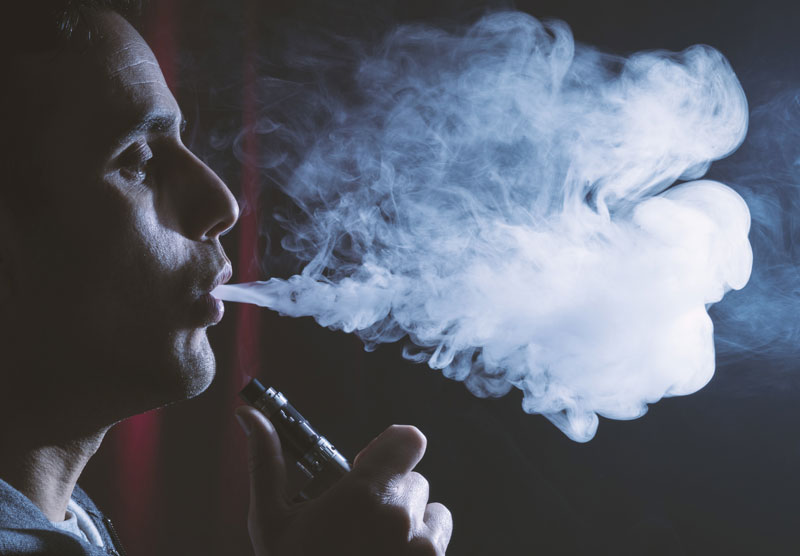 'Vaping Less Likely Long-Time Habit'