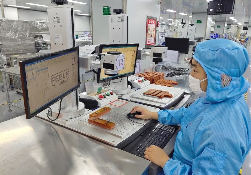 Chinese Hardware Makers Normalizing Operations