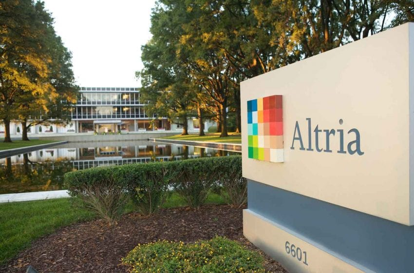 Altria Reestablishes 2020 EPS Guidance