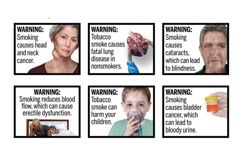 New U.S. Health Warnings Scheduled for October 2021