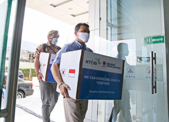 KT&G Donates Covid-19 Testing Kits to Indonesia