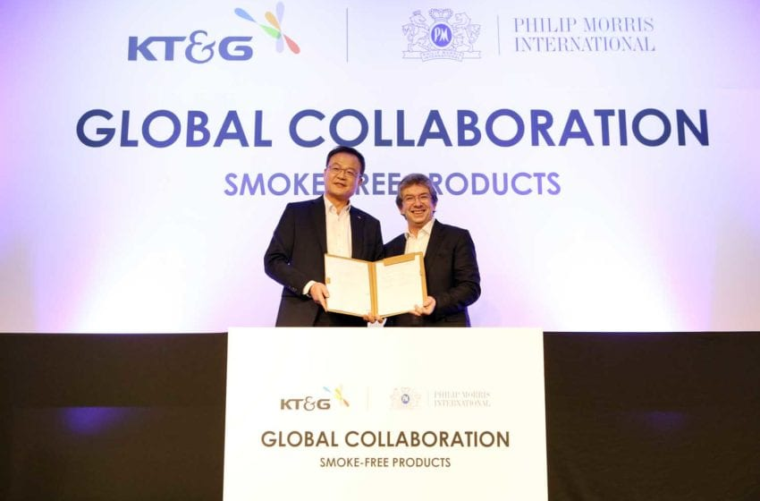 PMI and KT&G Announce Cooperation