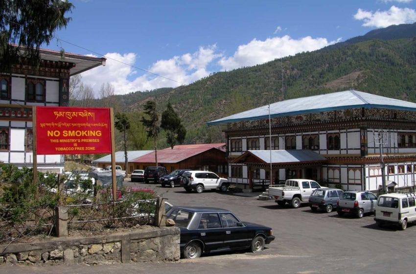 Bhutan Targets Tobacco Smuggling