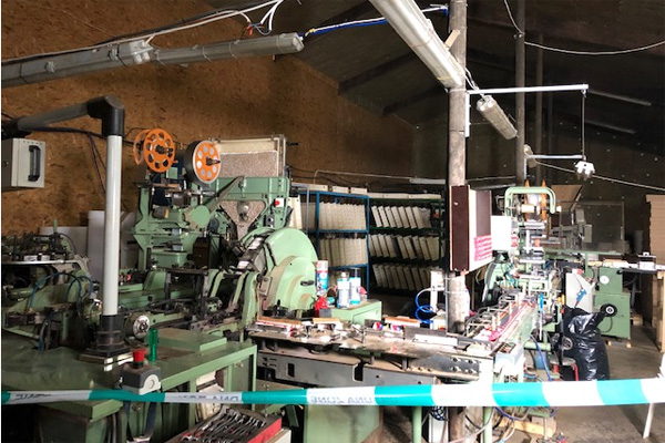 Dutch Authorities Raid Illegal Tobacco Factory