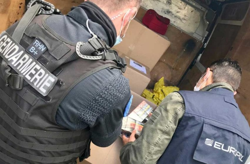 Counterfeit Cigarette Operation Dismantled in France