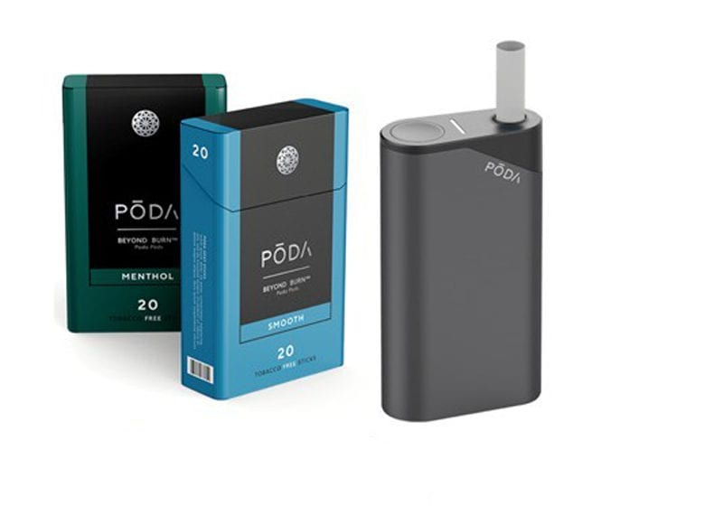 Poda Patents Closed-Ended HnB Cigarette