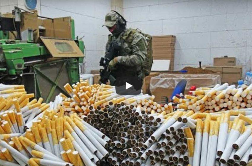 Video: Polish Authorities Dismantle Illicit Factory
