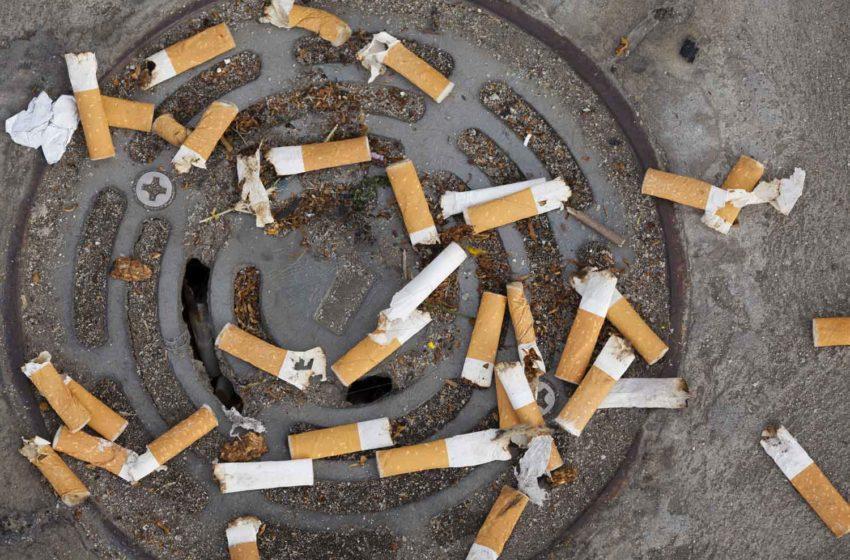 France Declares War on Cigarette Litter