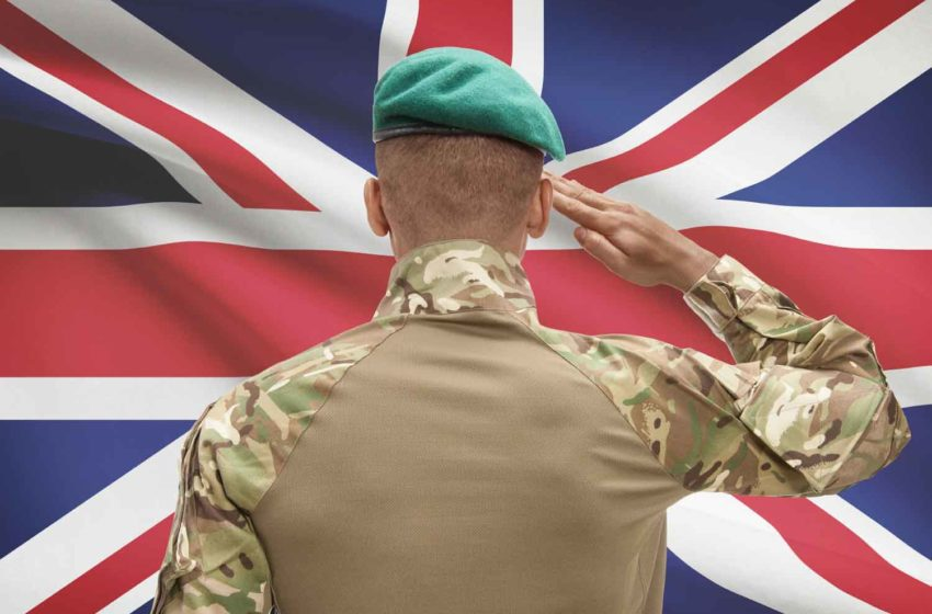 British Army to End Smoking by 2022